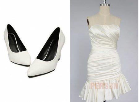 Chaussures de mariée à talon compensé confortables à ne pas manquer