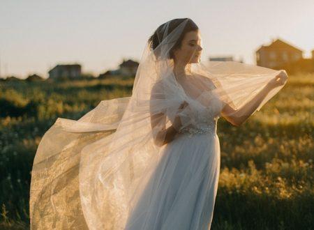 On découvre les secrets du voile de mariage!