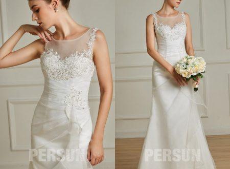 Robe de mariée: comment choisir le bon décolleté
