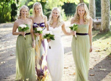 Belles robes de demoiselles d'honneur: styles et tendances de la mode